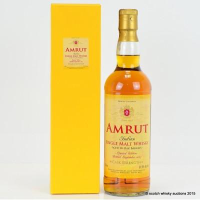Amrut Cask Strength 2007 Release