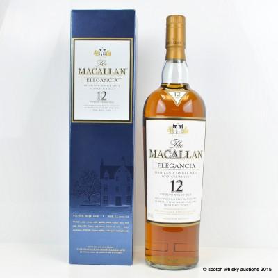 Macallan Elegancia 12 Year Old 1L