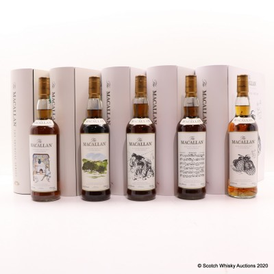 Macallan The Archival Series - Folio 1-5