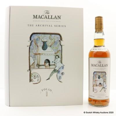 Macallan The Archival Series - Folio 1