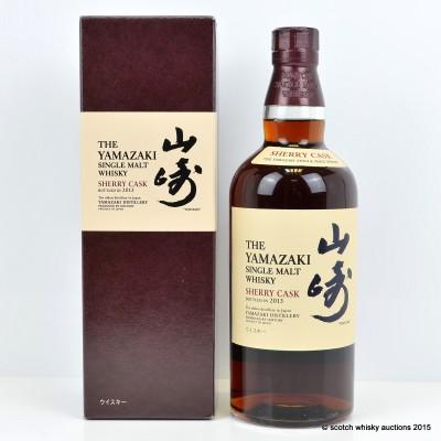 Yamazaki Sherry Cask 2013 Release
