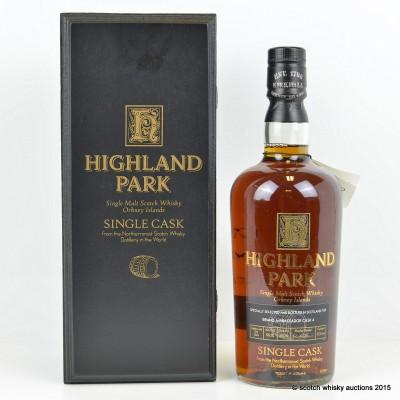 Highland Park Single Cask Ambassador Cask #4