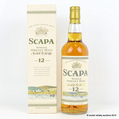 Scapa 12 Year Old Old Style