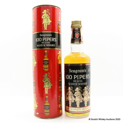 100 Pipers 75cl