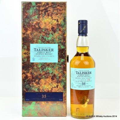 Talisker 35 Year Old 2012 Release