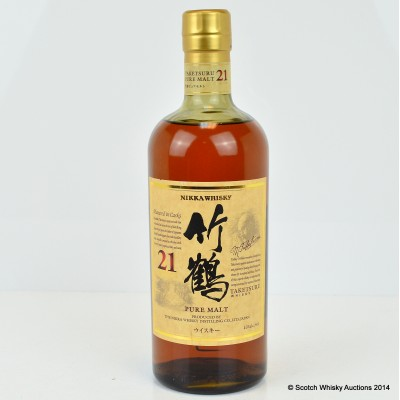 Taketsuru Pure Malt 21 Year Old 75cl