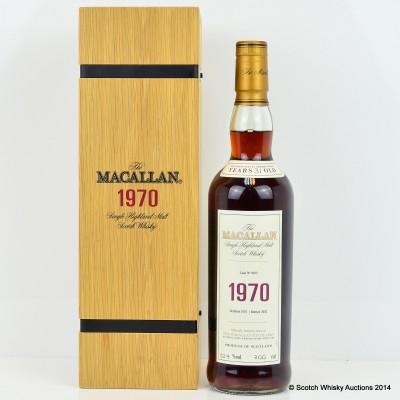 Macallan Fine & Rare 1970