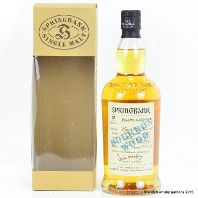 Springbank Bourbon Wood 1991 12 Year Old
