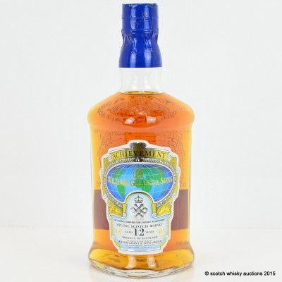 William Grant & Sons Queen's Achievement 12 Year Old
