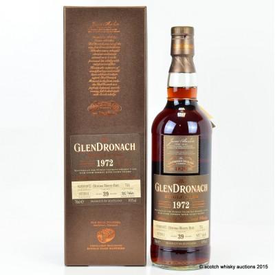 GlenDronach 1972 39 Year Old Single Cask #712