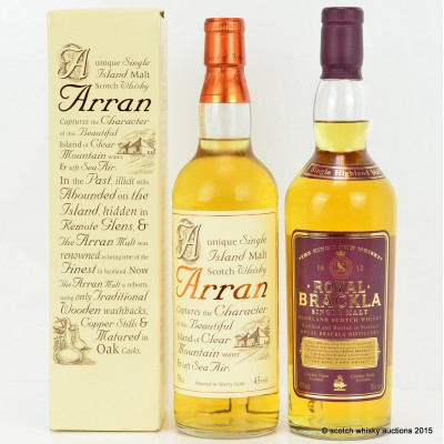 Royal Brackla & Arran