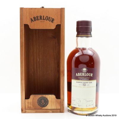 Aberlour 13 Year Old Oloroso Cask Distillery Exclusive