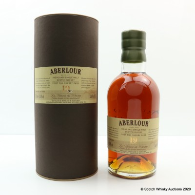 Aberlour 19 Year Old Single Cask #5938 For La Maison Du Whisky 60th Anniversary