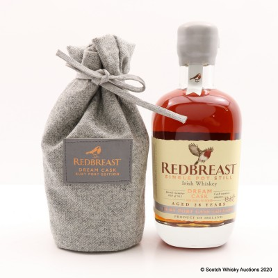 Redbreast 28 Year Old Dream Cask #400295 2020 Release 50cl
