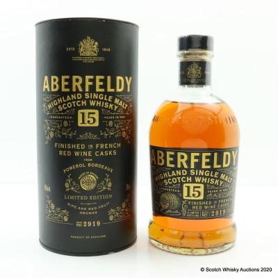 Aberfeldy 15 Year Old Red Wine Cask