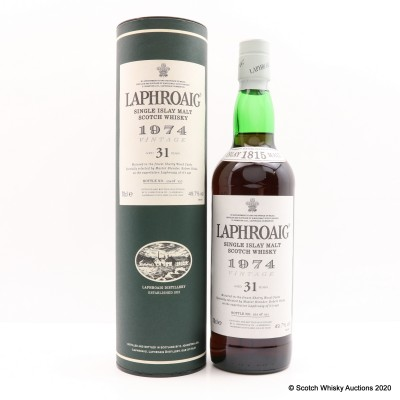 Laphroaig 1974 31 Year Old
