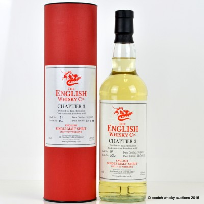 English Whisky Co Chapter 3