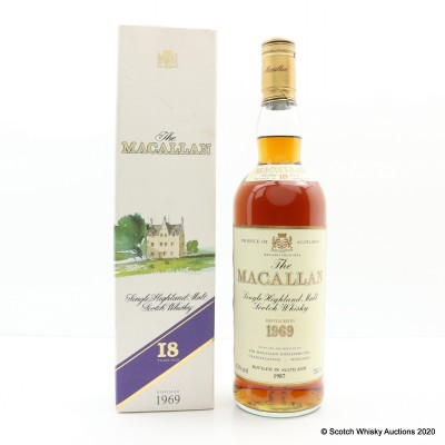 Macallan 18 Year Old 1969 75cl