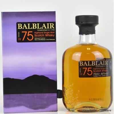 Balblair 1975 2nd Edition