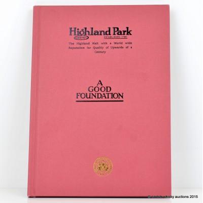 Highland Park 'A Good Foundation' Book