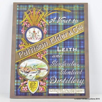 A Visit to Leith and Glenfarclas-Glenlivet Distillery by Alfred Barnard Book