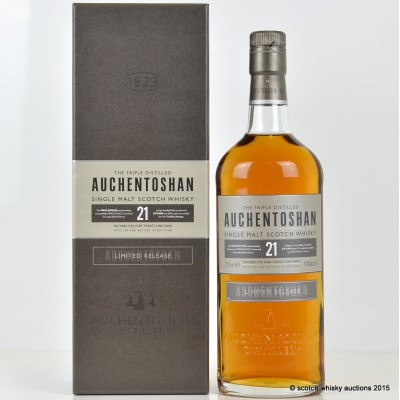 Auchentoshan 21 Year Old Limited Release