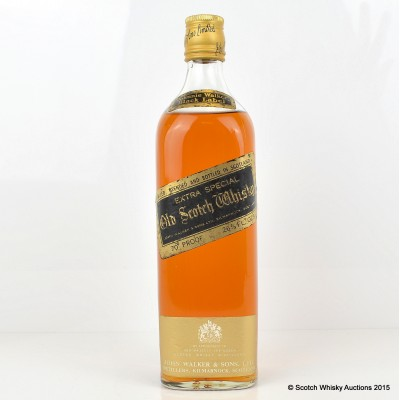 Johnnie Walker Black Label 26 2/3 Fl Ozs
