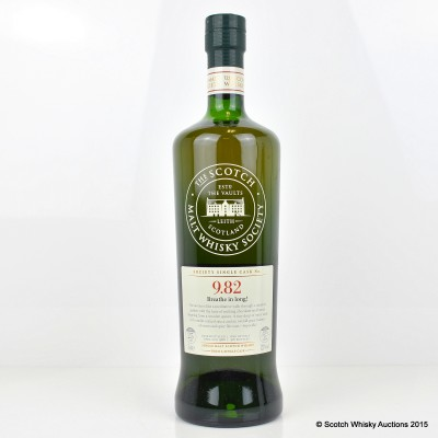 SMWS 9.82 Glen Grant 1988 25 Year Old