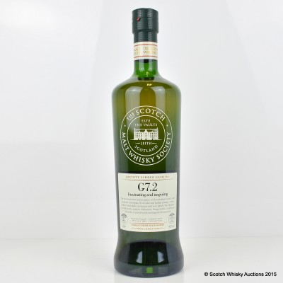 SMWS G7.2 Girvan 1984 27 Year Old