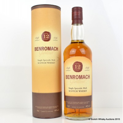 Benromach 12 Year Old Old Style