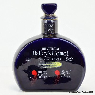 Halley's Comet 12 Year Old 75cl