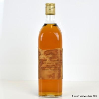 Inver-Regal Scotch Whisky J.H. Wham & Sons Ltd. Trade Sample