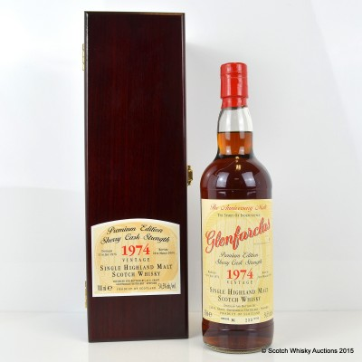 Glenfarclas Anniversary Malt 1974