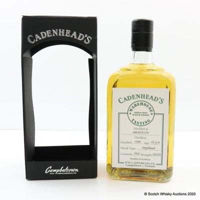 Aberfeldy 1996 23 Year Old Cadenhead's Warehouse Tasting