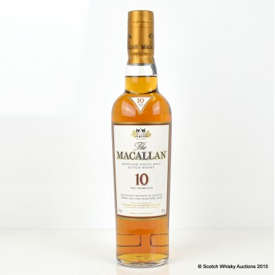 Macallan 10 Year Old 35cl