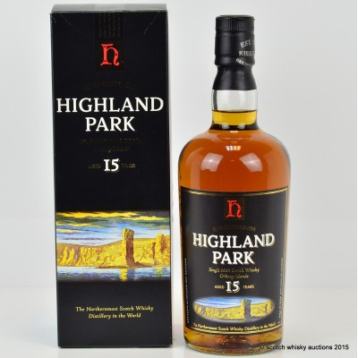 Highland Park 15 Year Old Old Style