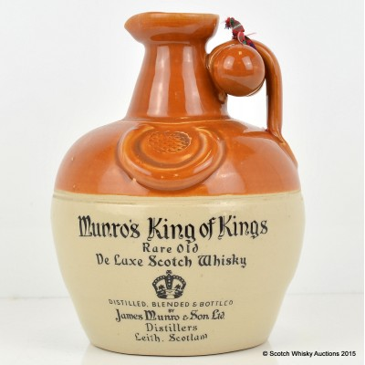 Munro's King of Kings Ceramic Flagon