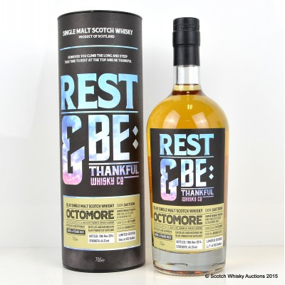 Octomore 2007 6 Year Old Rest & Be Thankful Whisky Co