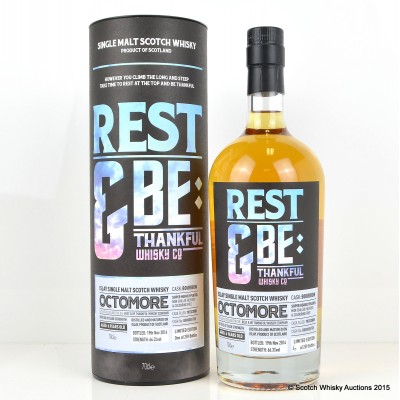 Octomore 2008 6 Year Old Rest & Be Thankful Whisky Co