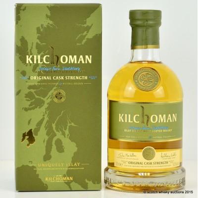 Kilchoman Original Cask Strength 2014 Release