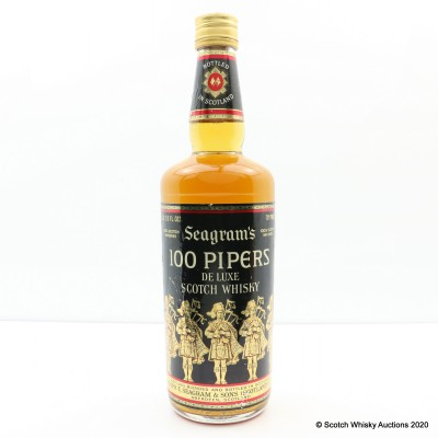 100 Pipers 26 2/3 Fl Oz