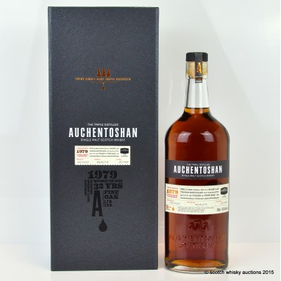 Auchentoshan 1979 32 Year Old Sherry Cask