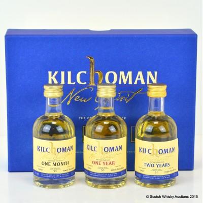 Kilchoman Connoisseurs Pack Minis 3 x 5cl