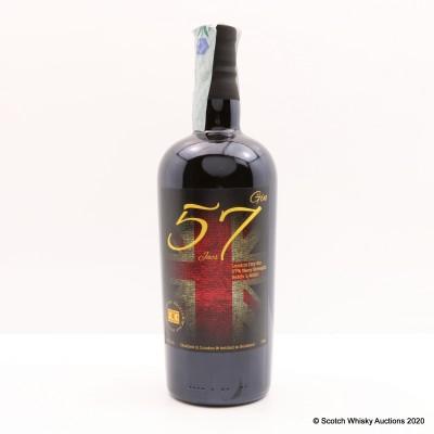 57 London Dry Navy Strength Gin Batch No 01/2020