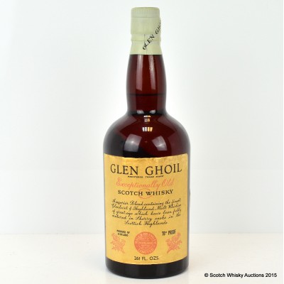 Glen Ghoil Exceptionally Old 70° Proof 26 2/3 Fl Oz