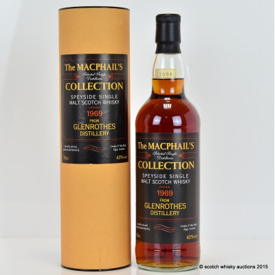 Glenrothes 1969 Macphail's Collection