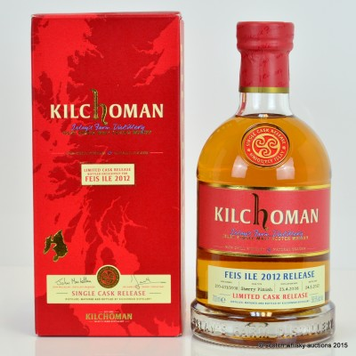 Kilchoman Feis Ile 2012 Signed by Anthony Wills