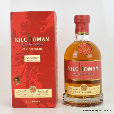Kilchoman PX Sherry Cask Finish For Loch Fyne Whiskies