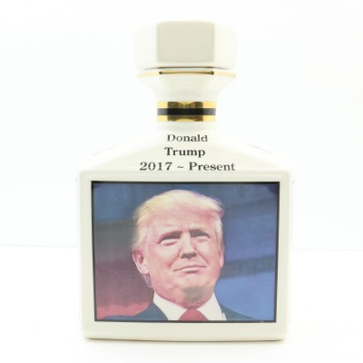 Pointer's Donald Trump Ceramic Decanter