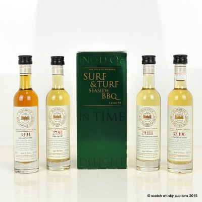 SMWS Surf & Turf 4th Release 4 x 10cl
